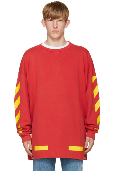 Off-White - Red Arrows Pullover