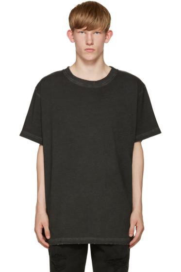 Off-White - Black Garment-Dye T-Shirt