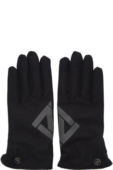 11 by Boris Bidjan Saberi - Black Logo Gloves