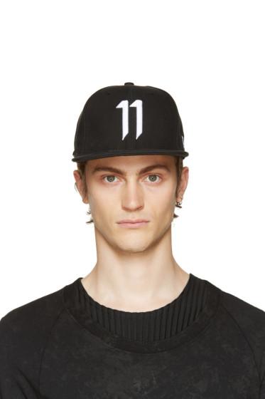 11 by Boris Bidjan Saberi - Black Logo 11 Cap
