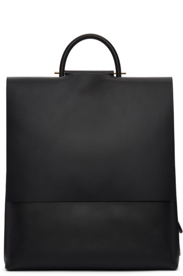 Building Block - Black Rucksack Backpack