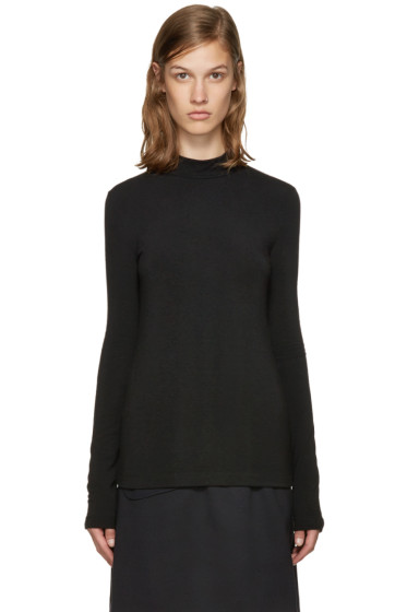 Jil Sander Navy - Black Jersey Turtleneck