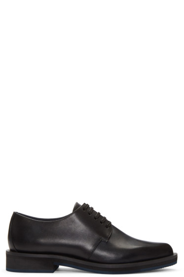 Jil Sander Navy - Black Leather Derbys