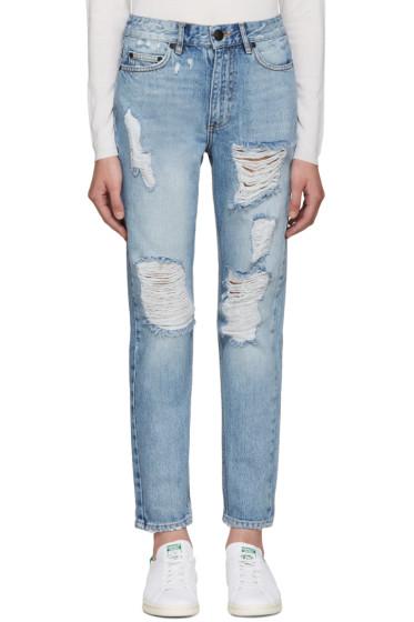 Won Hundred - Blue Two Light Vintage Jeans