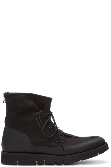 OAMC - Black Aviator Boots