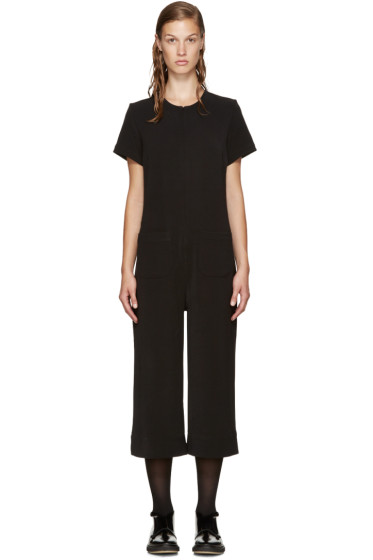 Nomia - Black Cropped Jumpsuit