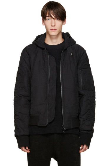 D by D - Black AM-1 Bomber Jacket