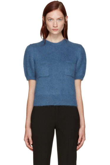 Erdem - Blue Wool Jessa Sweater