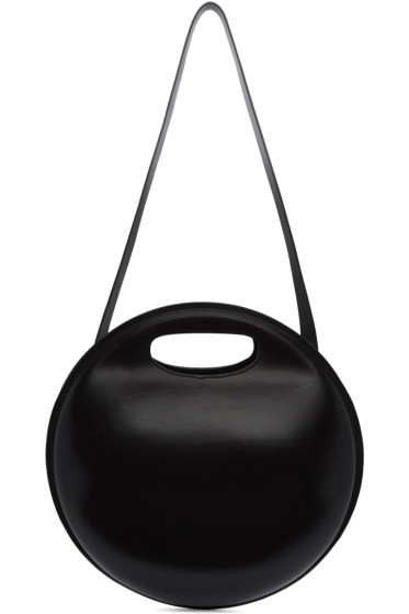 Lemaire - Black Round Bag