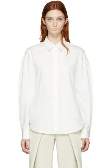 Lemaire - White Large Sleeve Shirt