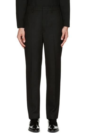 Lemaire - Black Suit Trousers