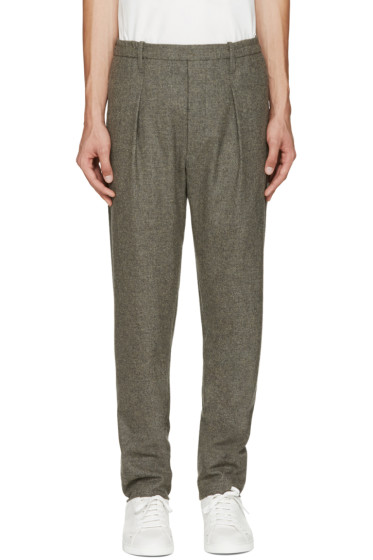 Lemaire - Grey Wool Trousers