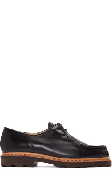Lemaire - Black Paraboot Edition Michael Loafers