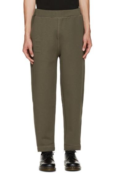 Etudes - Green Lounge Pants