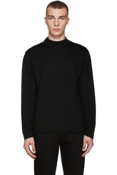 Etudes - Black Merino Sweater