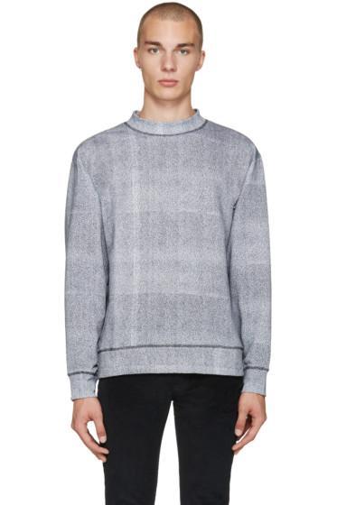 Etudes - Grey Mock Neck Pullover