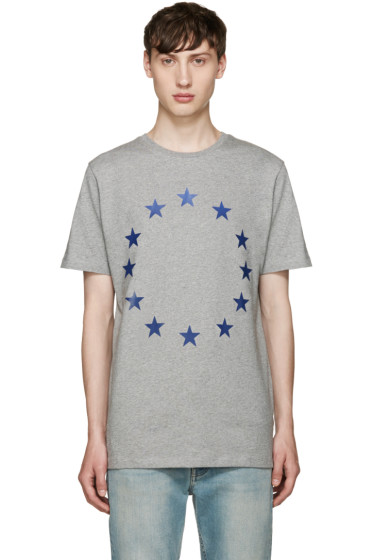 Etudes - Grey Page Europa T-Shirt