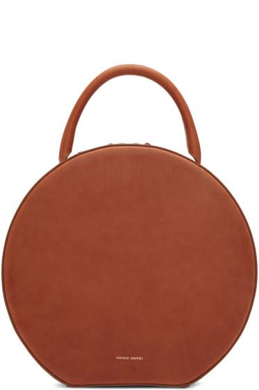 Mansur Gavriel - Brown Leather Circle Bag