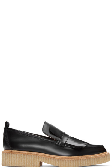 Flamingos - SSENSE Exclusive Black Shannon Loafers