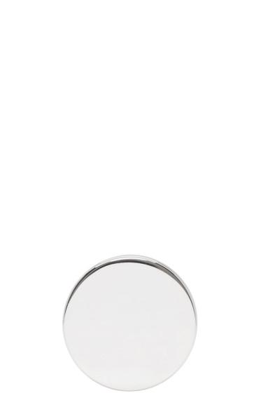 Vetements - Silver Plug Earring