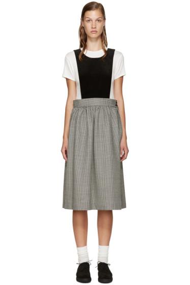 Comme des Garçons Girl - Black Velvet Bustier Dress