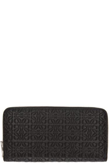 Loewe - Black Monogram Wallet