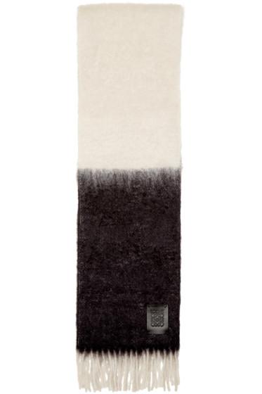 Loewe - Black & White Window Scarf