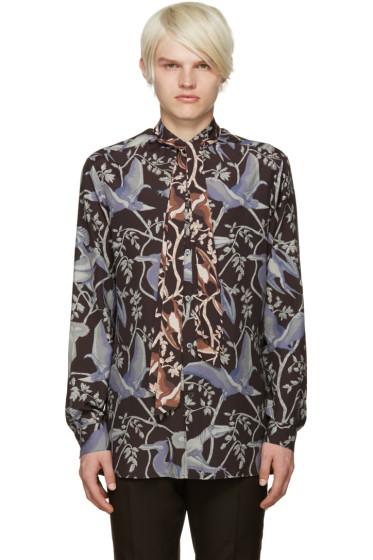 Loewe - Multicolor Dinosaur Print Shirt