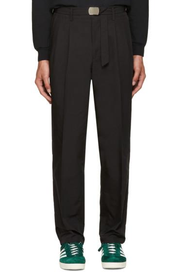 Toga Virilis - Black Chino Trousers