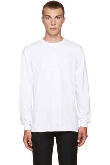 Toga Virilis - White Beaded T-Shirt