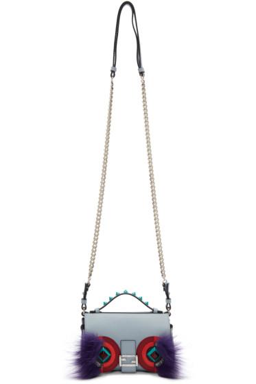 Fendi - Blue Eyes Double Micro Baguette Bag