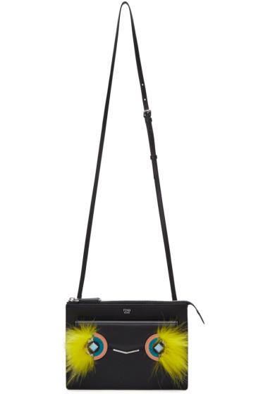 Fendi - Black 2Jours Mini Clutch Shoulder Bag