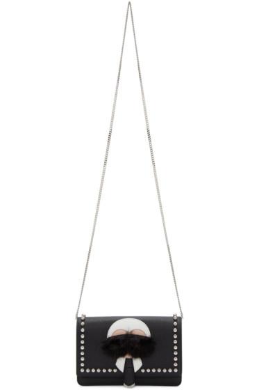 Fendi - Black Karlito Tube Wallet Chain Bag