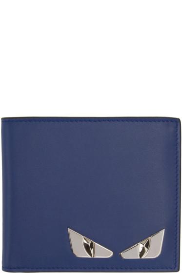 Fendi - Blue Monster Wallet