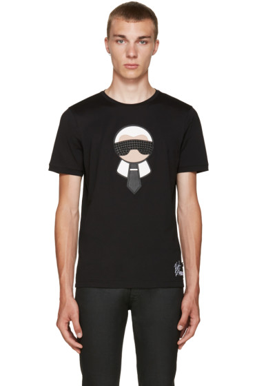 Fendi - Black Karlito T-Shirt