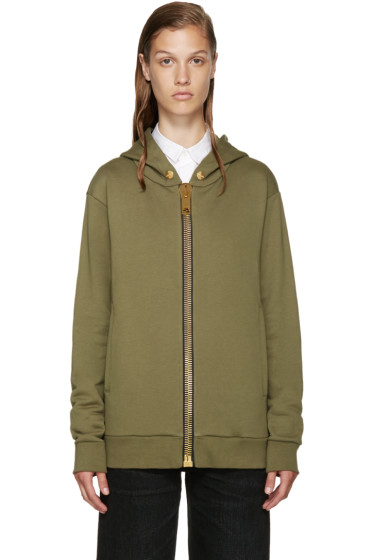 Palm Angels - Green Maxi Puller Hoodie