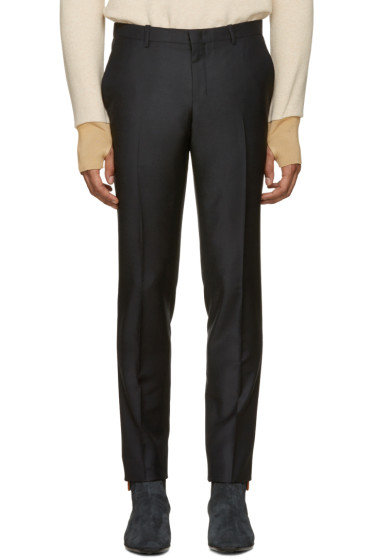 Wooyoungmi - Navy Classic Trousers