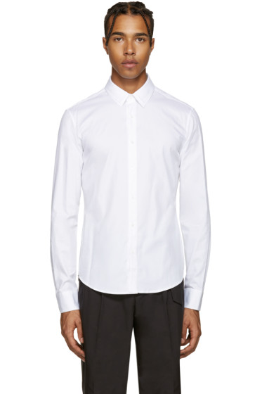 Wooyoungmi - White Double Collar Shirt