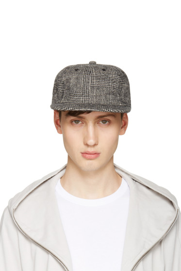 Attachment - Black Houndstooth Cap