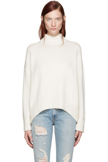 Brock Collection - Ivory Kathleen Turtleneck