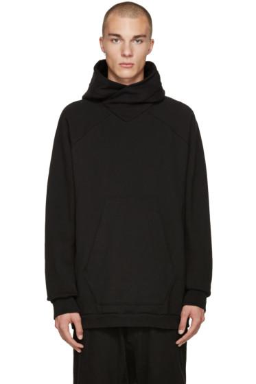 NILøS - Black Raglan Hoodie