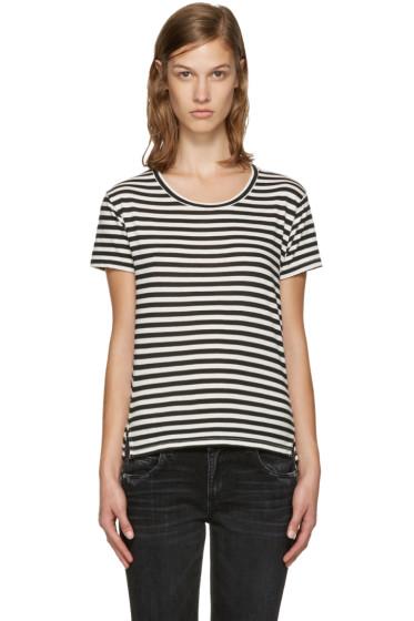 Amo - Black & White Twist T-Shirt