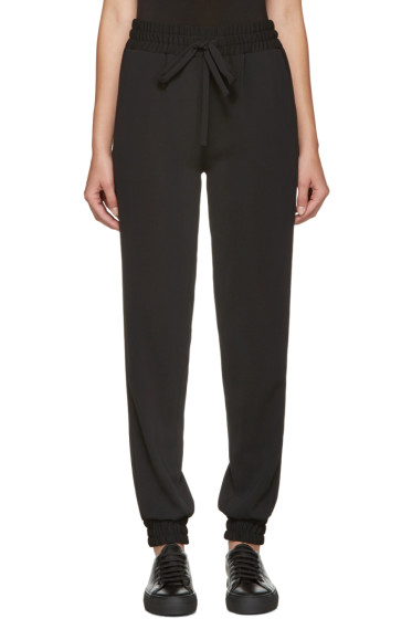 Atea Oceanie - Black Crepe Lounge Pants