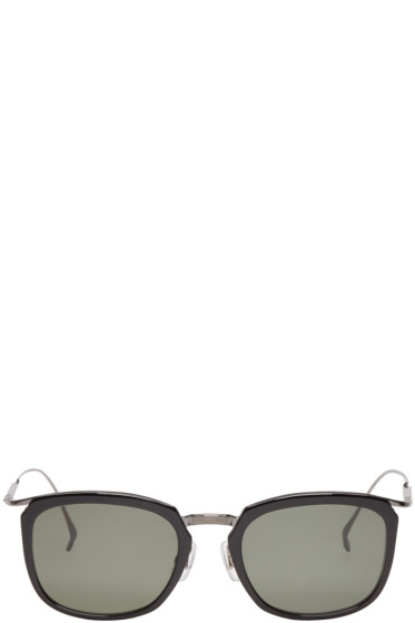 Issey Miyake Men - Black Pentagon Sunglasses