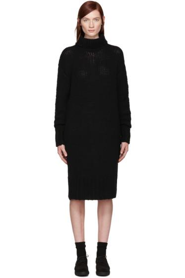 Y's - Black Turtleneck Dress