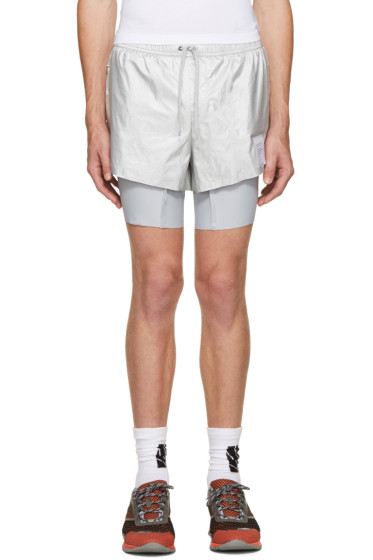Satisfy - Silver Long Distance Shorts