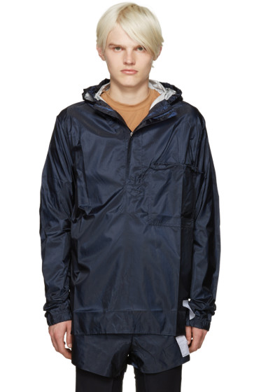 Satisfy - Navy Packable Windbreaker