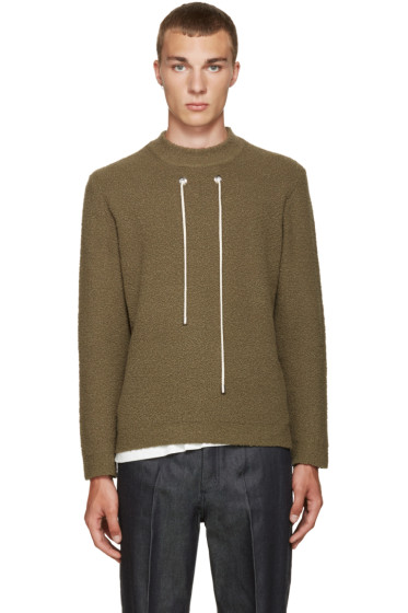 Craig Green - Green Bouclé Sweater
