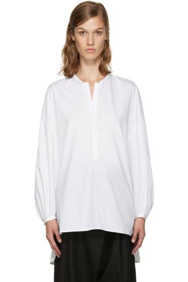 Enfold - White Voluminous Blouse