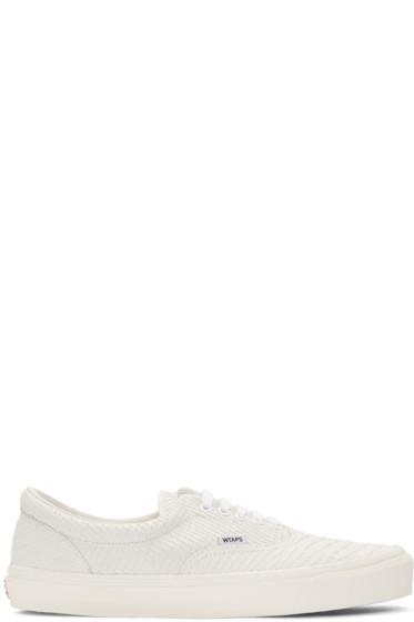 Vans - Off-White WTAPS Edition OG Era LX Anaconda Sneakers